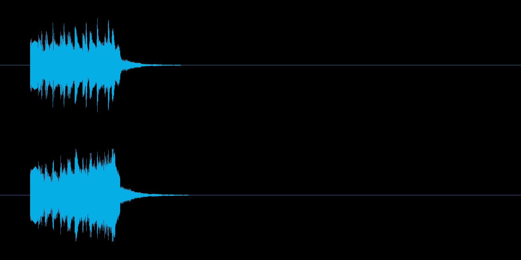 ジングル/環境(場面転換SE風)の再生済みの波形