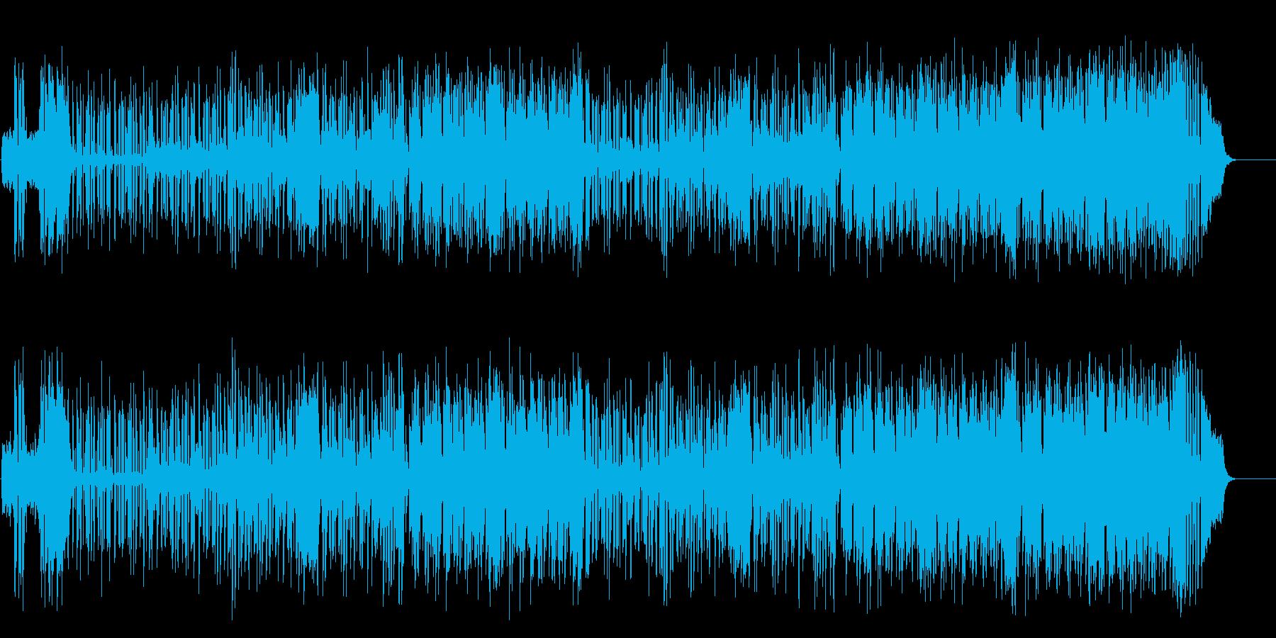 ソウル・テイストのミクスチャー・ポップスの再生済みの波形