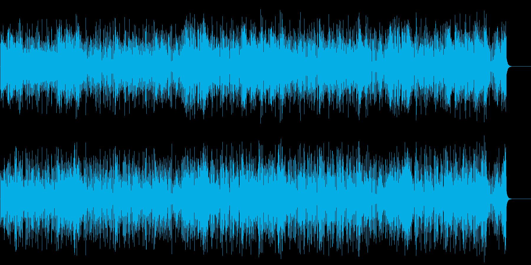 ドラマ風ファンキーなポップ/BGの再生済みの波形