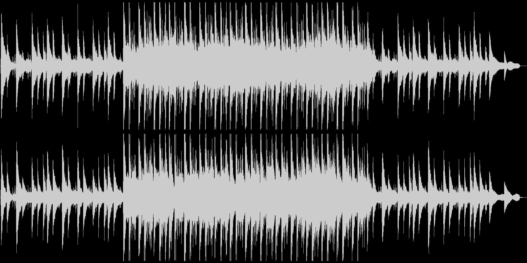 ちょっと切ないピアノバラードの未再生の波形