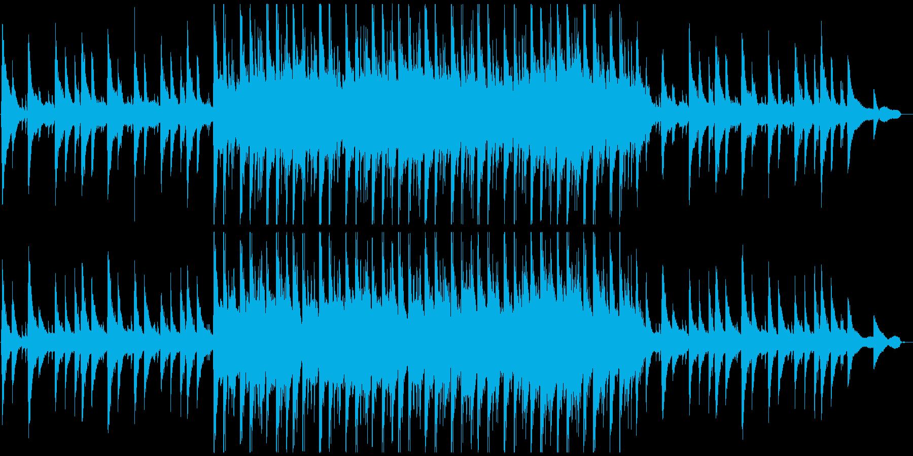 ちょっと切ないピアノバラードの再生済みの波形