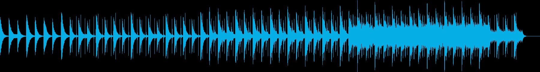 静かなピアノ インストの再生済みの波形