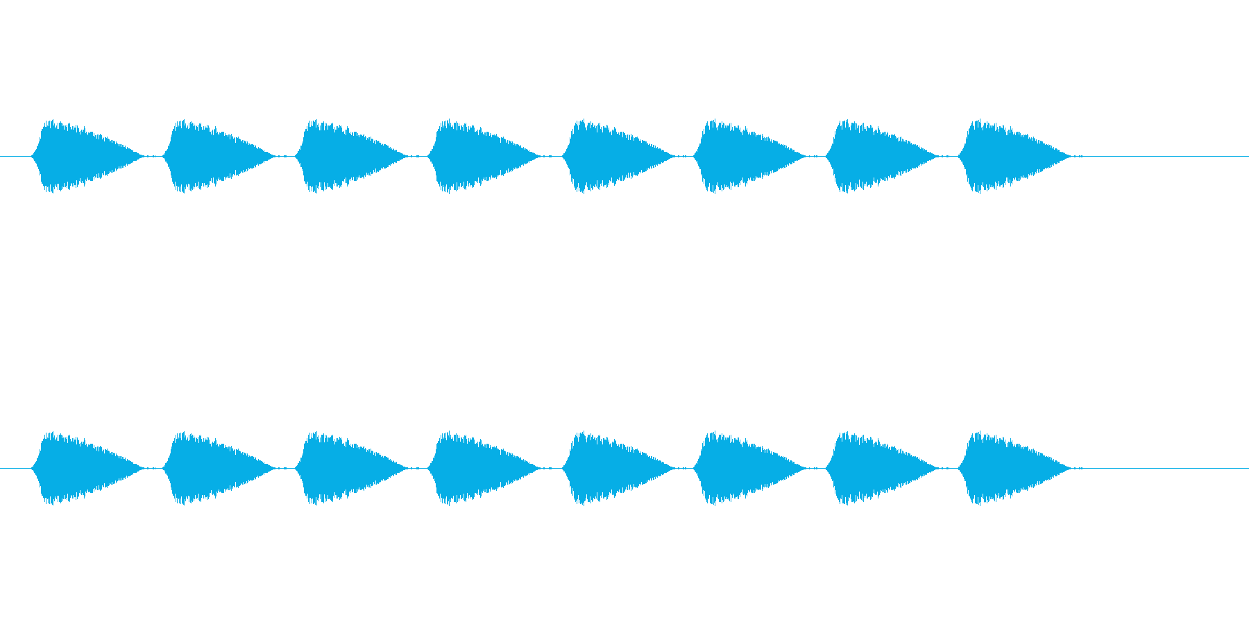 【光る03-4】の再生済みの波形