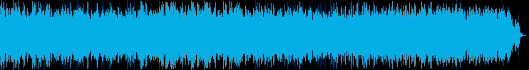 優しいピアノリラクゼーションミュージックの再生済みの波形