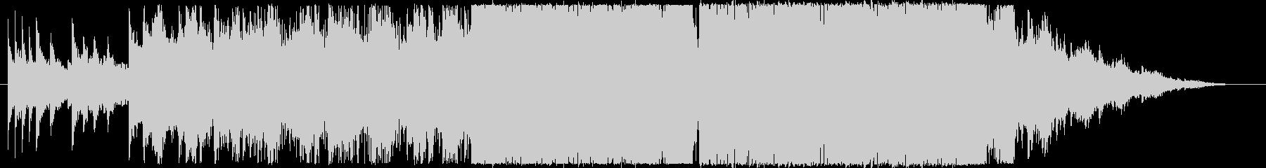 しっとりとした切ないエレクトロです。の未再生の波形