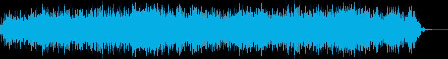 ホラー サスペンス アンビエント 雪の再生済みの波形