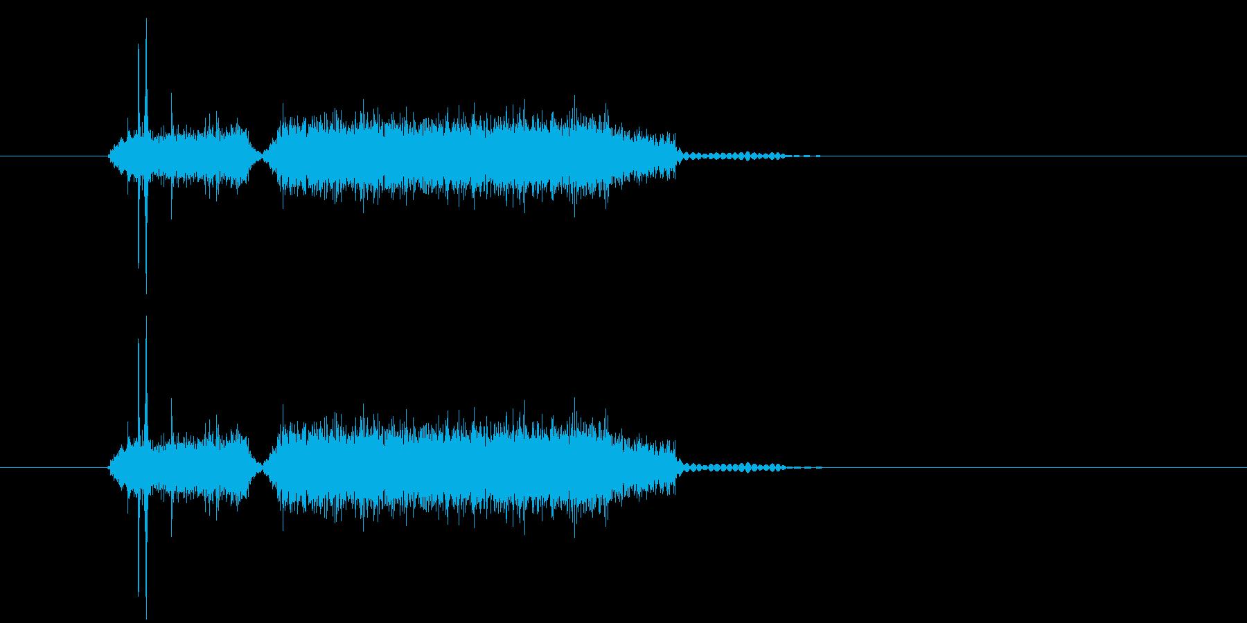 カシャジャー(写真、マシーン)の再生済みの波形