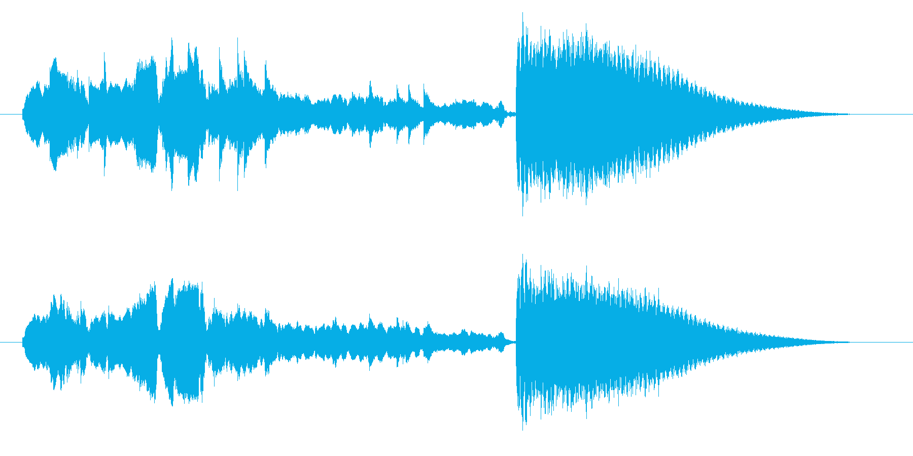 中国風アイキャッチ☆ジングル4の再生済みの波形