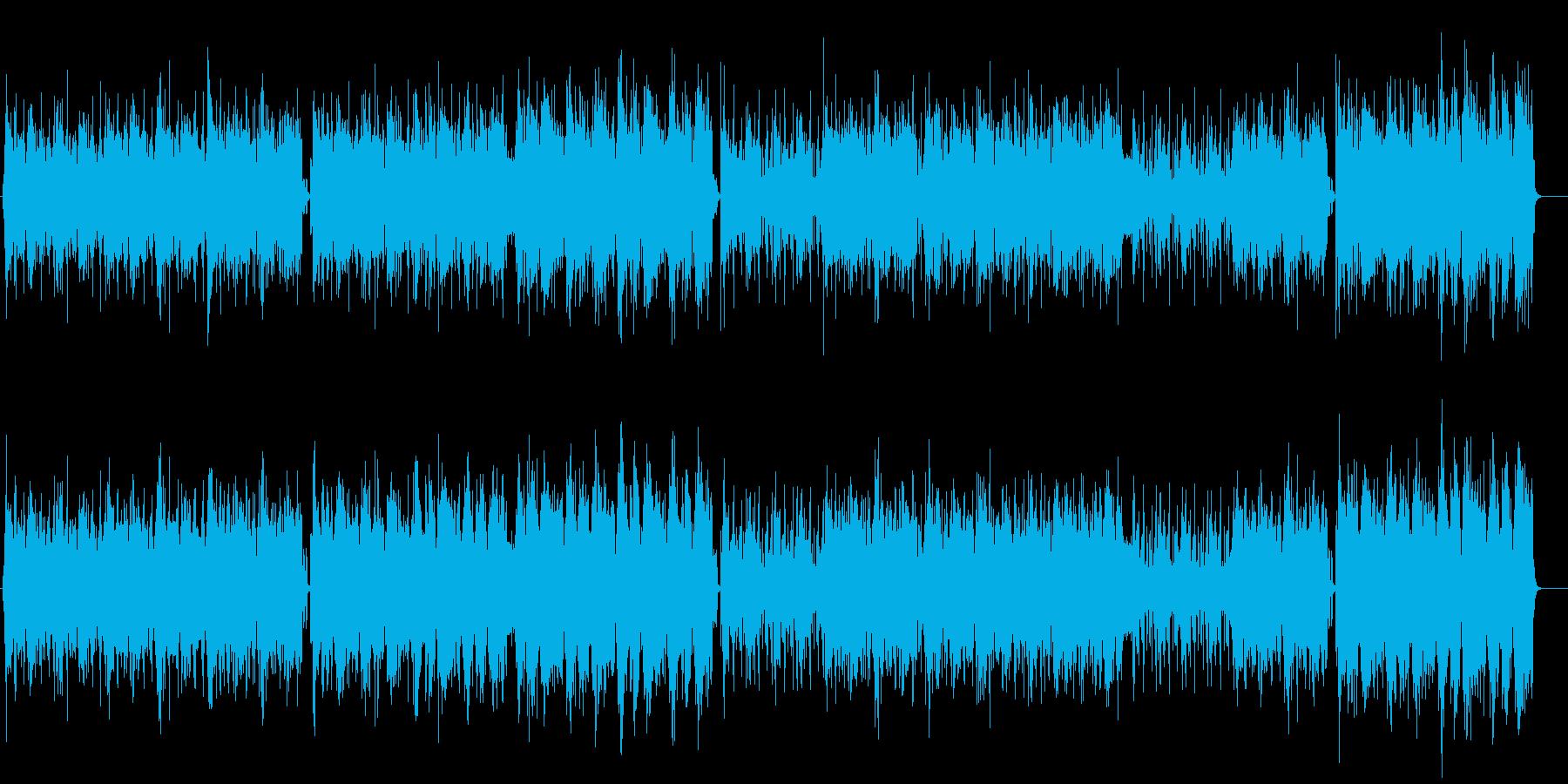 ダンス「ISAAC」の再生済みの波形