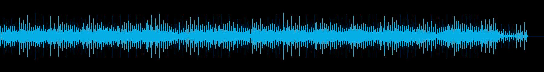 (1分)パズルゲーム4つ打ちテクノポップの再生済みの波形