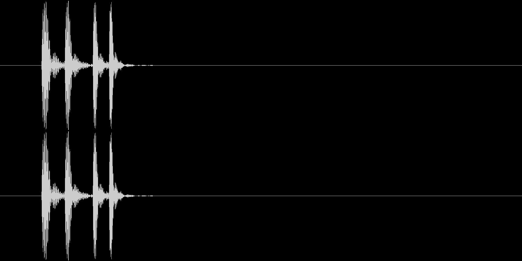 ポロ!(アプリ、ゲーム)の未再生の波形