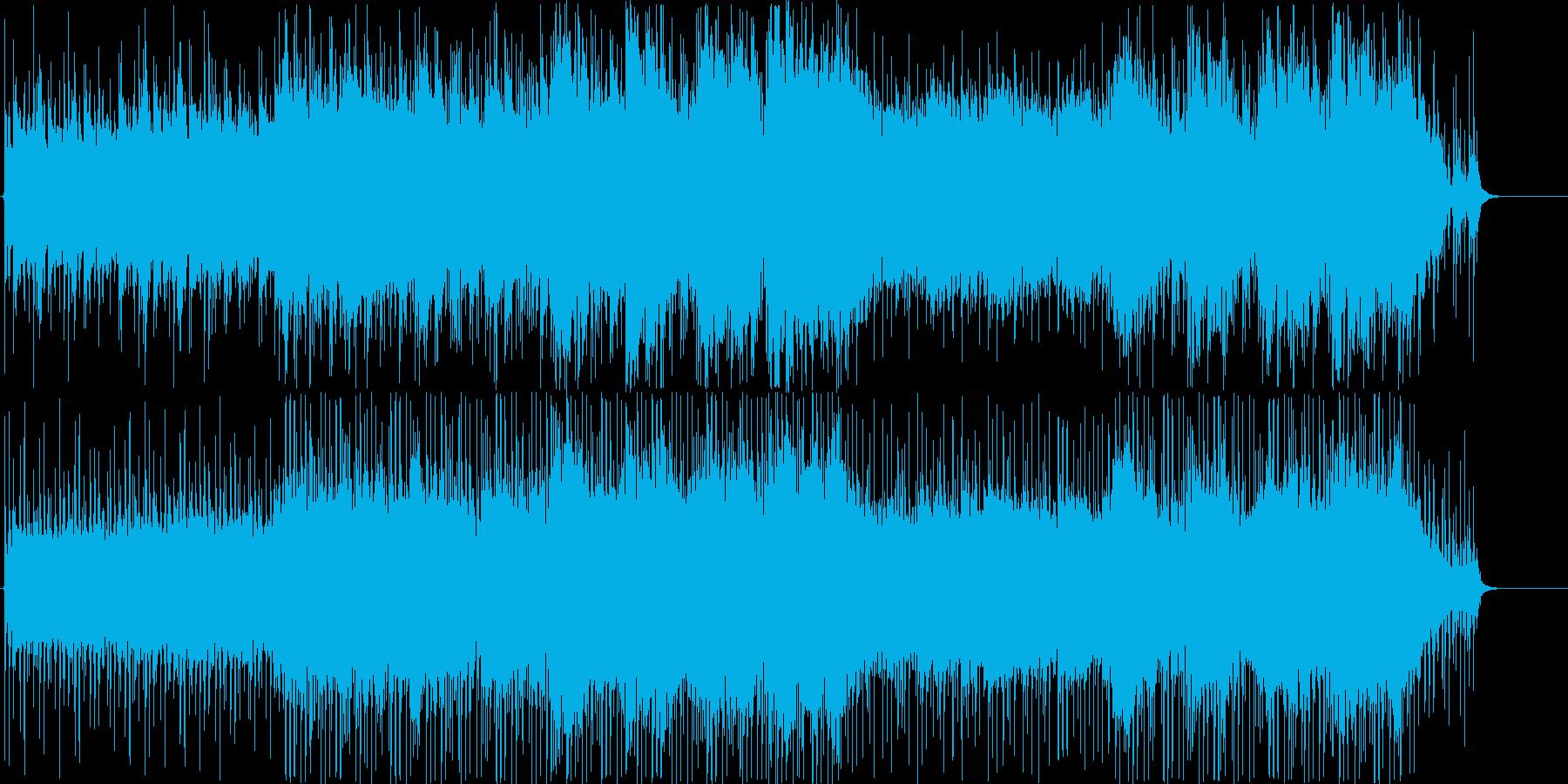透明感・プリズム・爽やか・癒しBGMの再生済みの波形