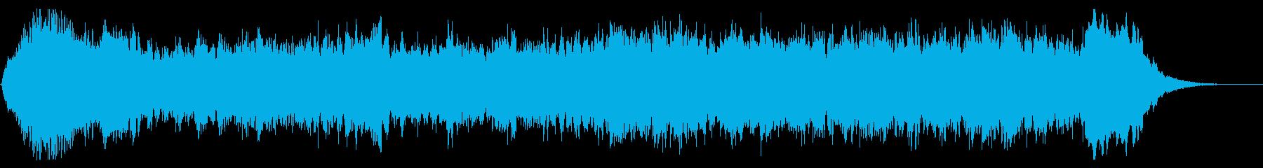 ホラー調なハロウィン オープニングテーマの再生済みの波形