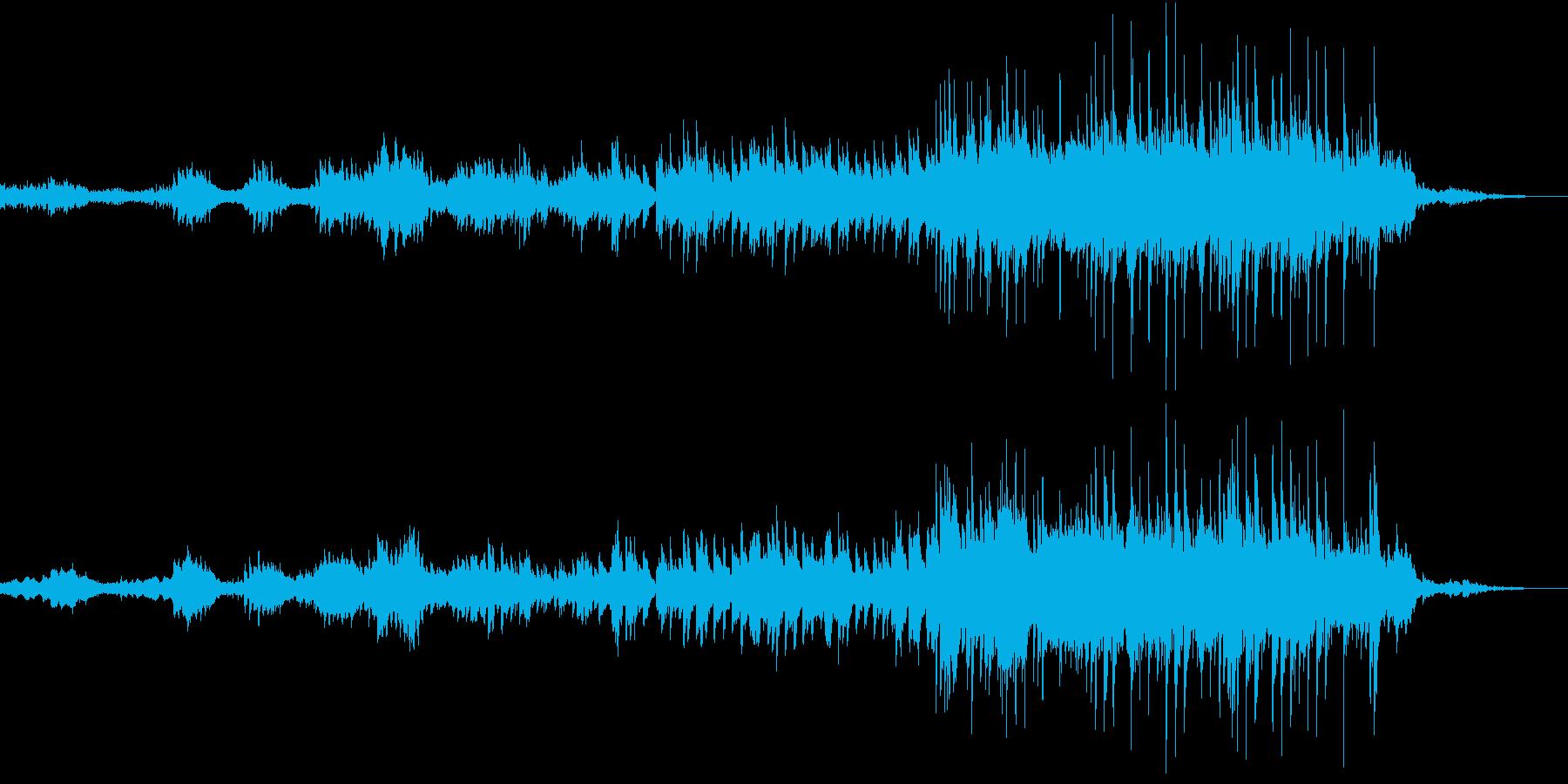 お城の中のようなイメージの再生済みの波形