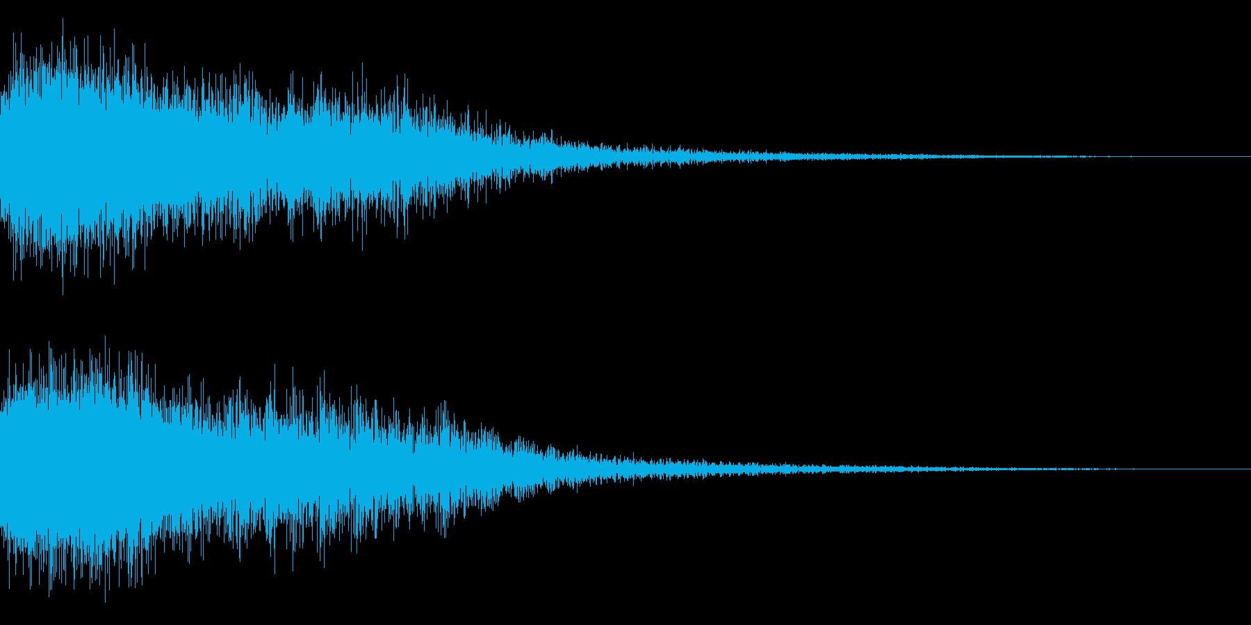 シャキーン♪クリア,達成,回復に最適4bの再生済みの波形