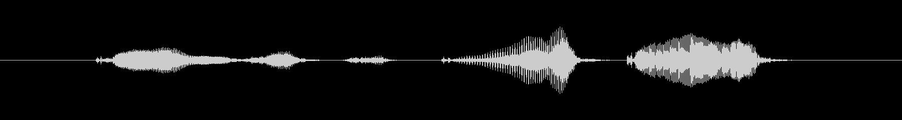 近日公開の未再生の波形