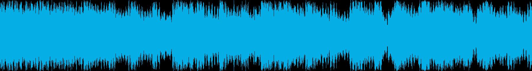 RPG-BGM 重厚オーケストラ楽曲の再生済みの波形