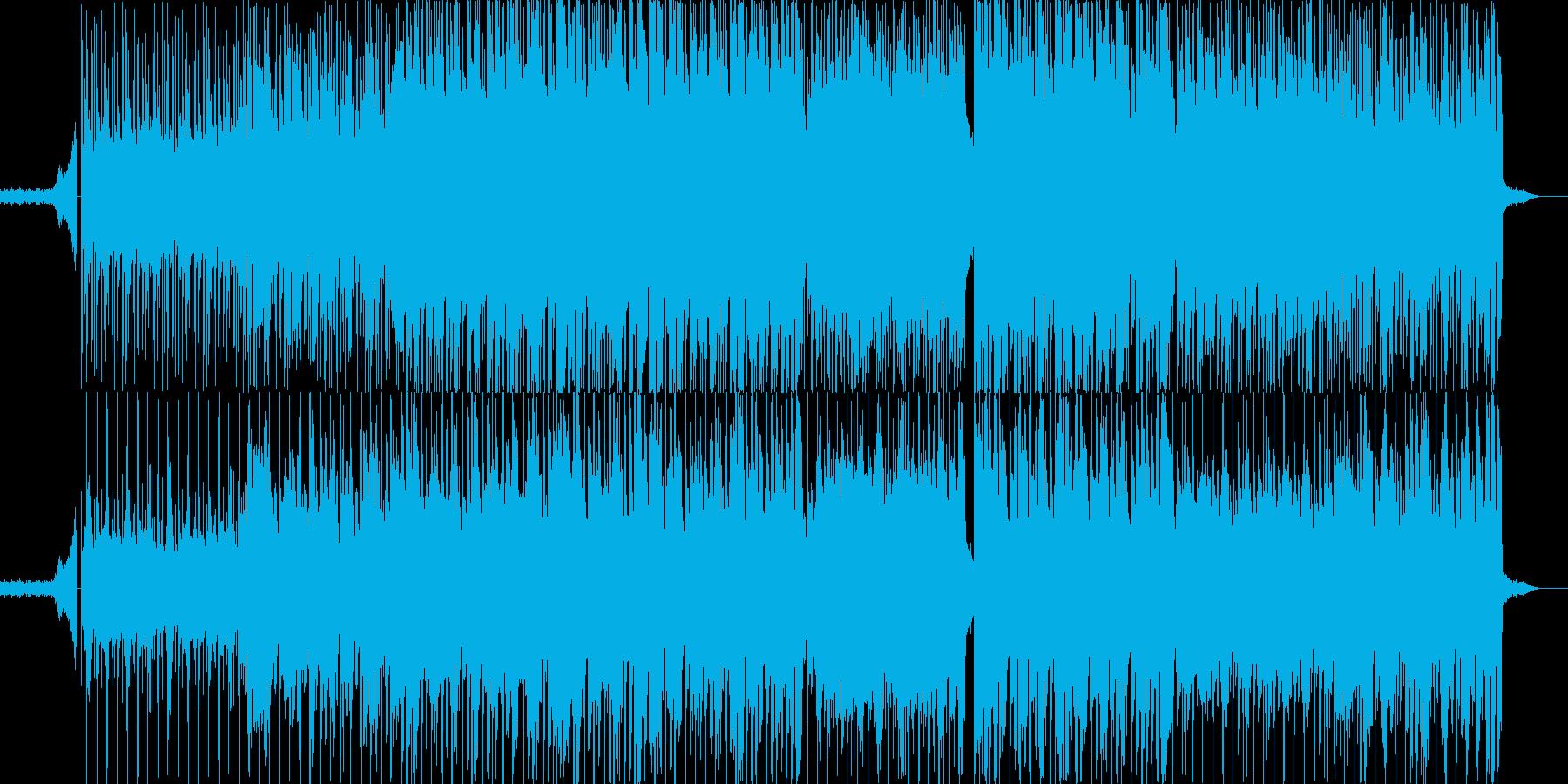 夏の空-ほのぼのポップス 男ボーカルの再生済みの波形