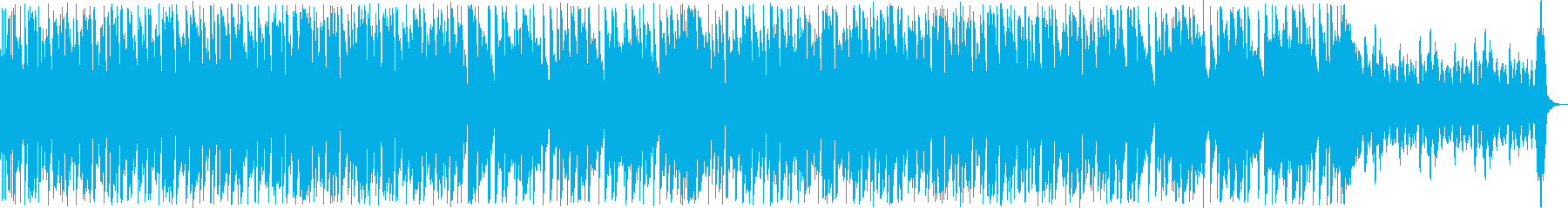 ダンサブルでファニーなアコギインストの再生済みの波形