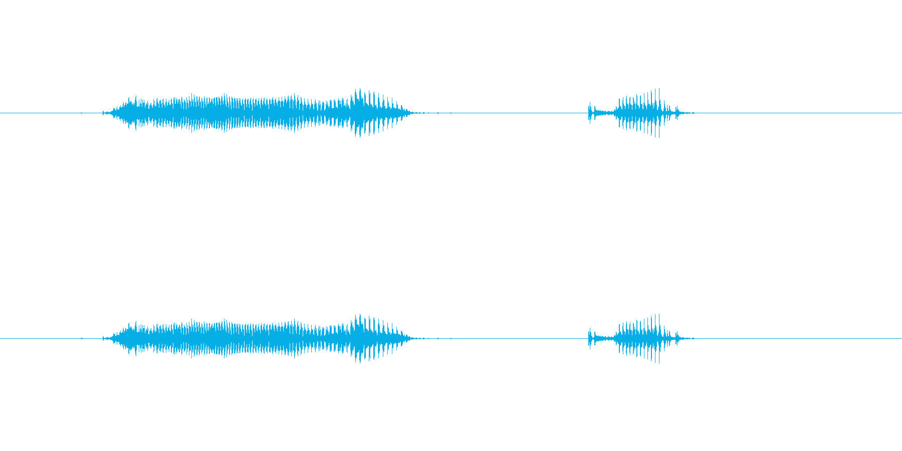 【日】14日の再生済みの波形