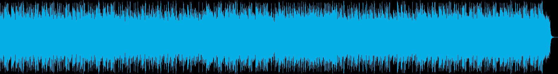 美しい和風三味線・シンセサウンドの再生済みの波形
