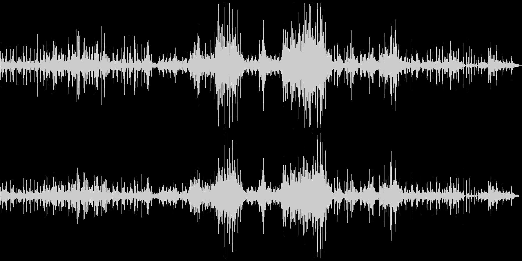 ショパン「雨だれ」ピアノソロ/高音質の未再生の波形