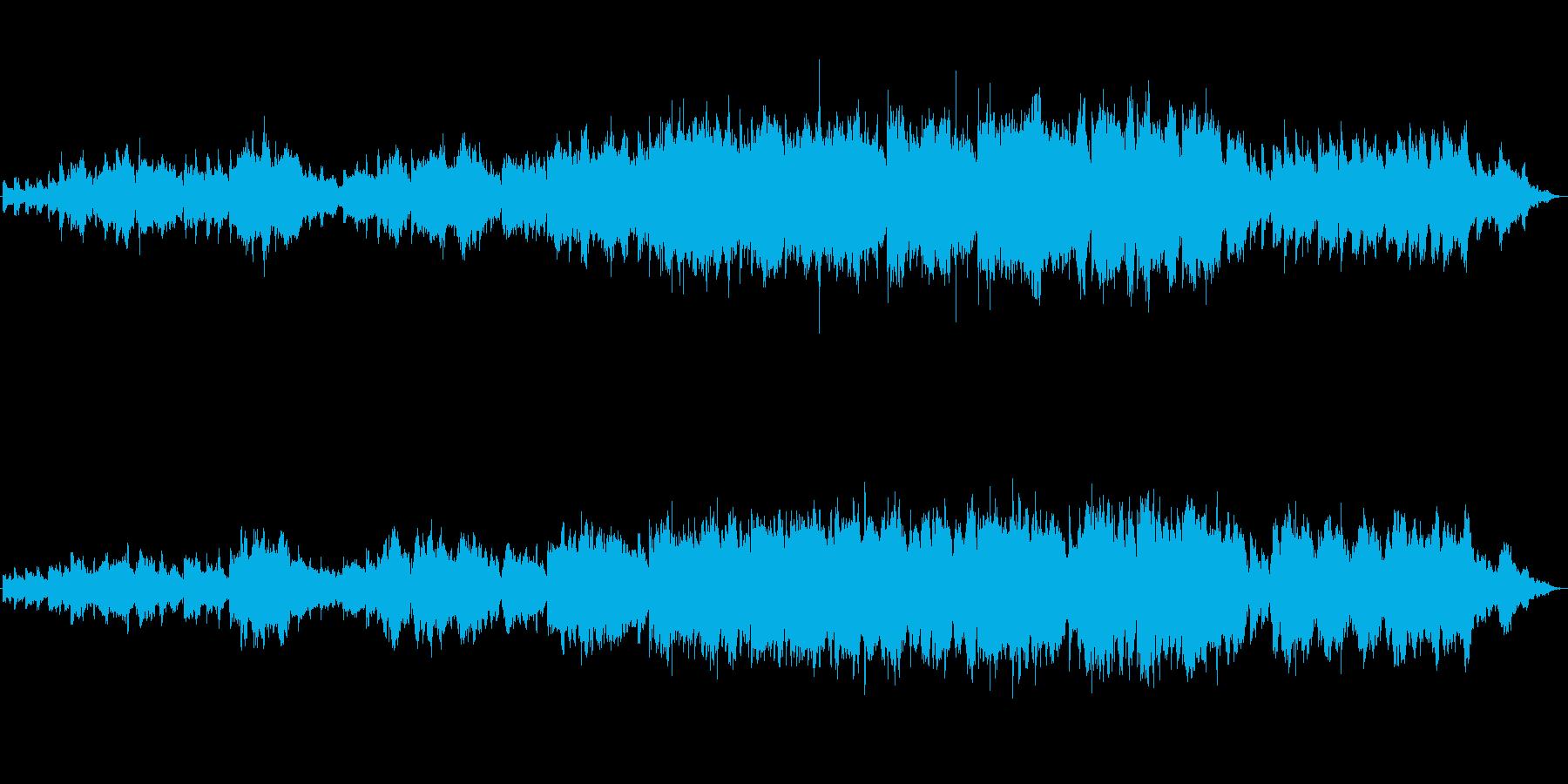 地球の魂をテーマにしたクラシック音楽の再生済みの波形