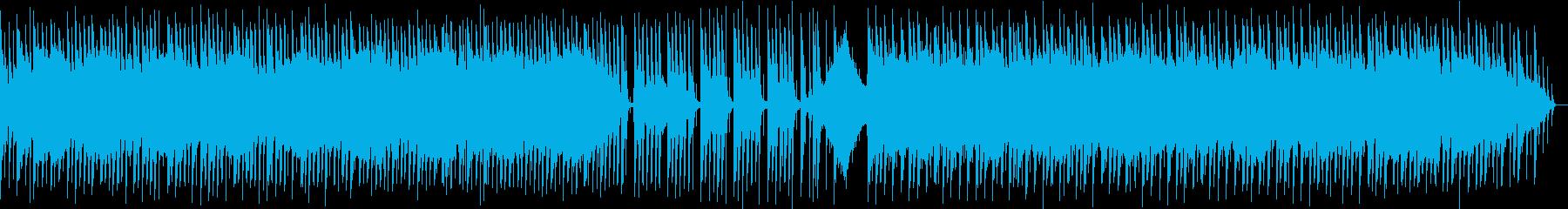 ゆったり切ないカントリーフォークの再生済みの波形
