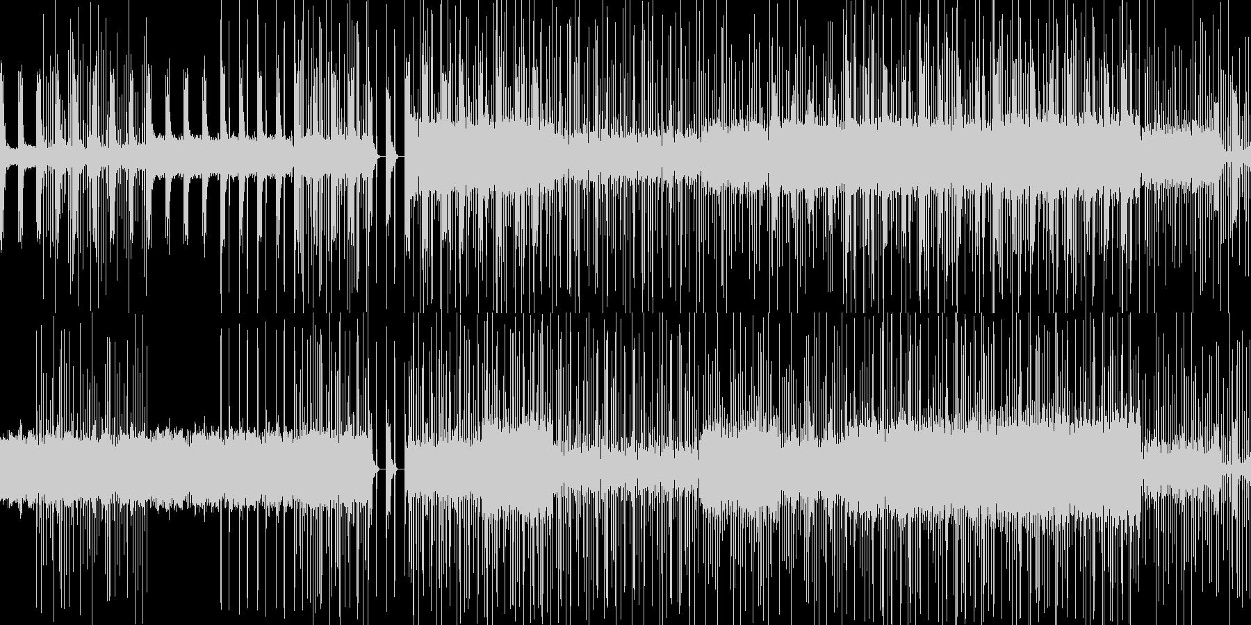 穏やかでクリック音が特徴的なニカの未再生の波形