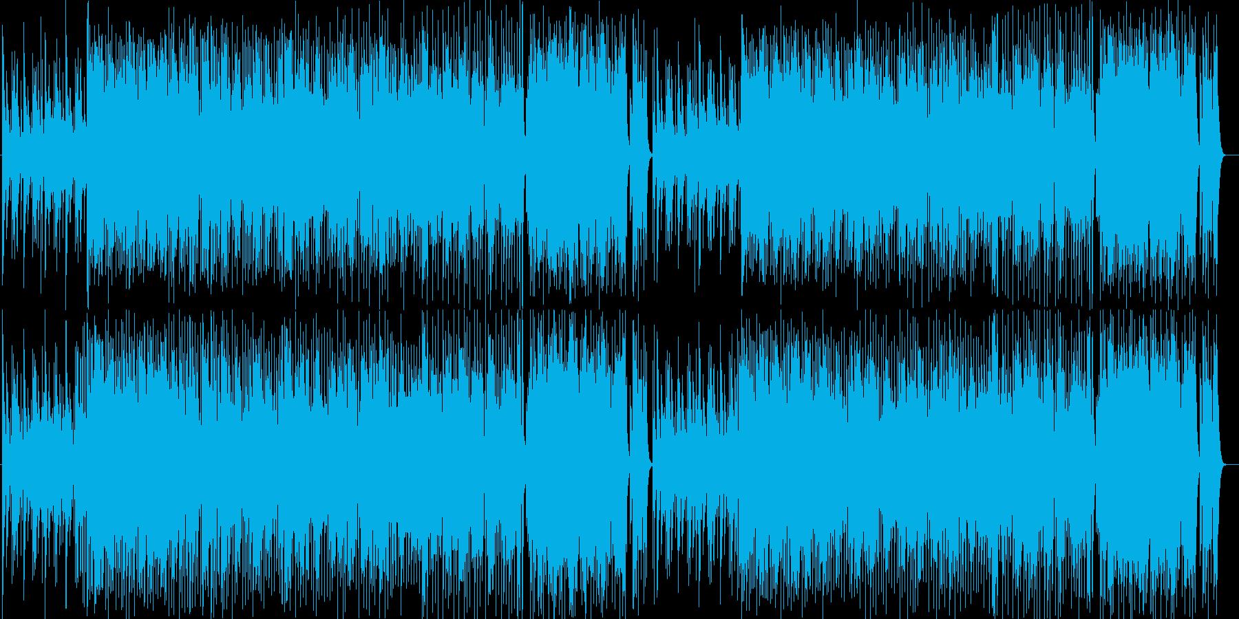 アニメBGM系シンセポップサウンドの再生済みの波形