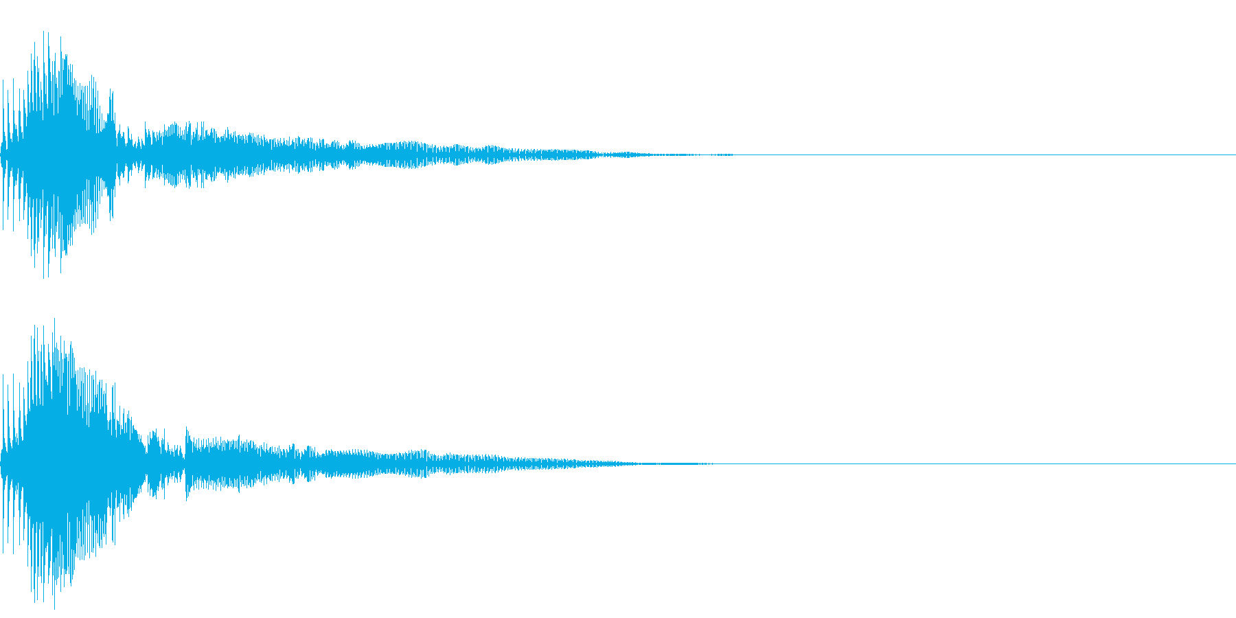 Zako ゲームのザコキャラの鳴き声 1の再生済みの波形