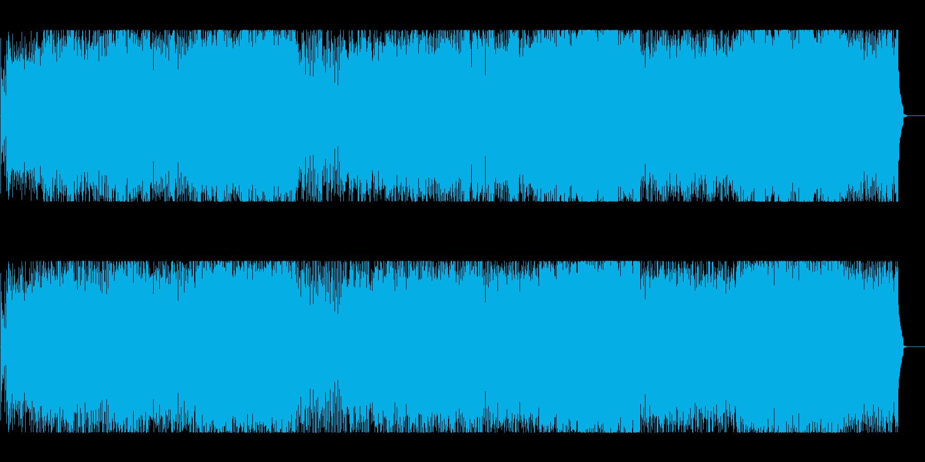 都会 スリル スピード 緊張 追跡 夜の再生済みの波形