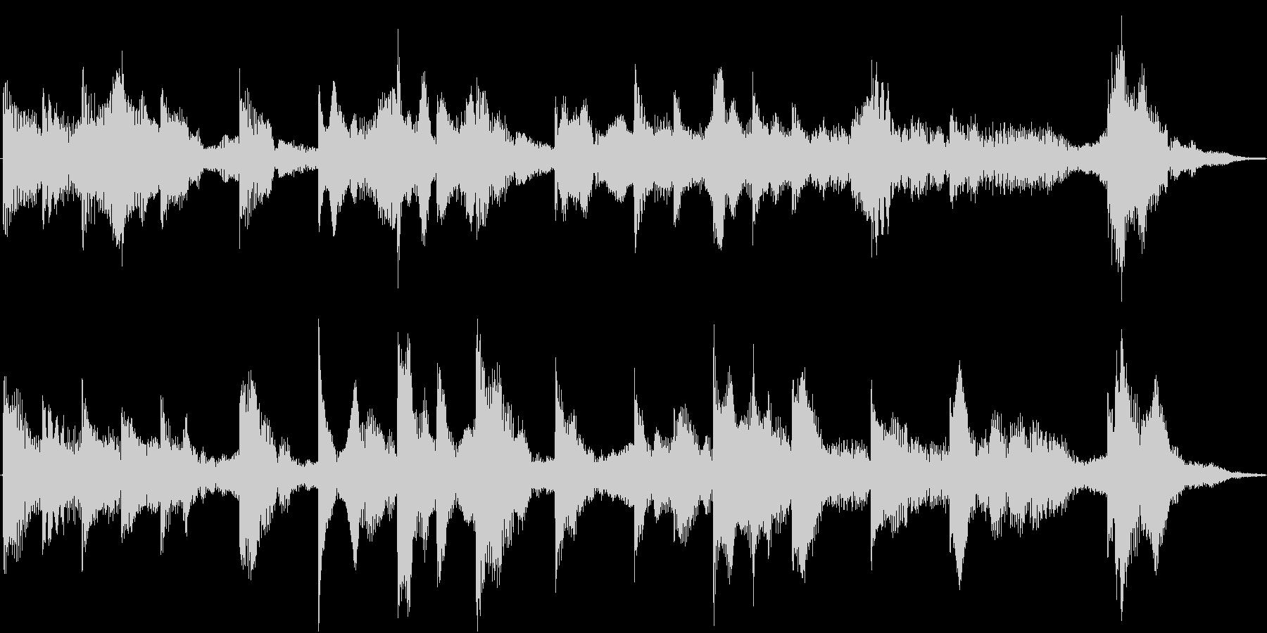 電車の発車メロディ(発着音)001の未再生の波形