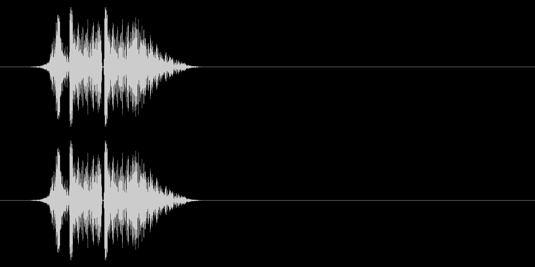 打撃09-4の未再生の波形