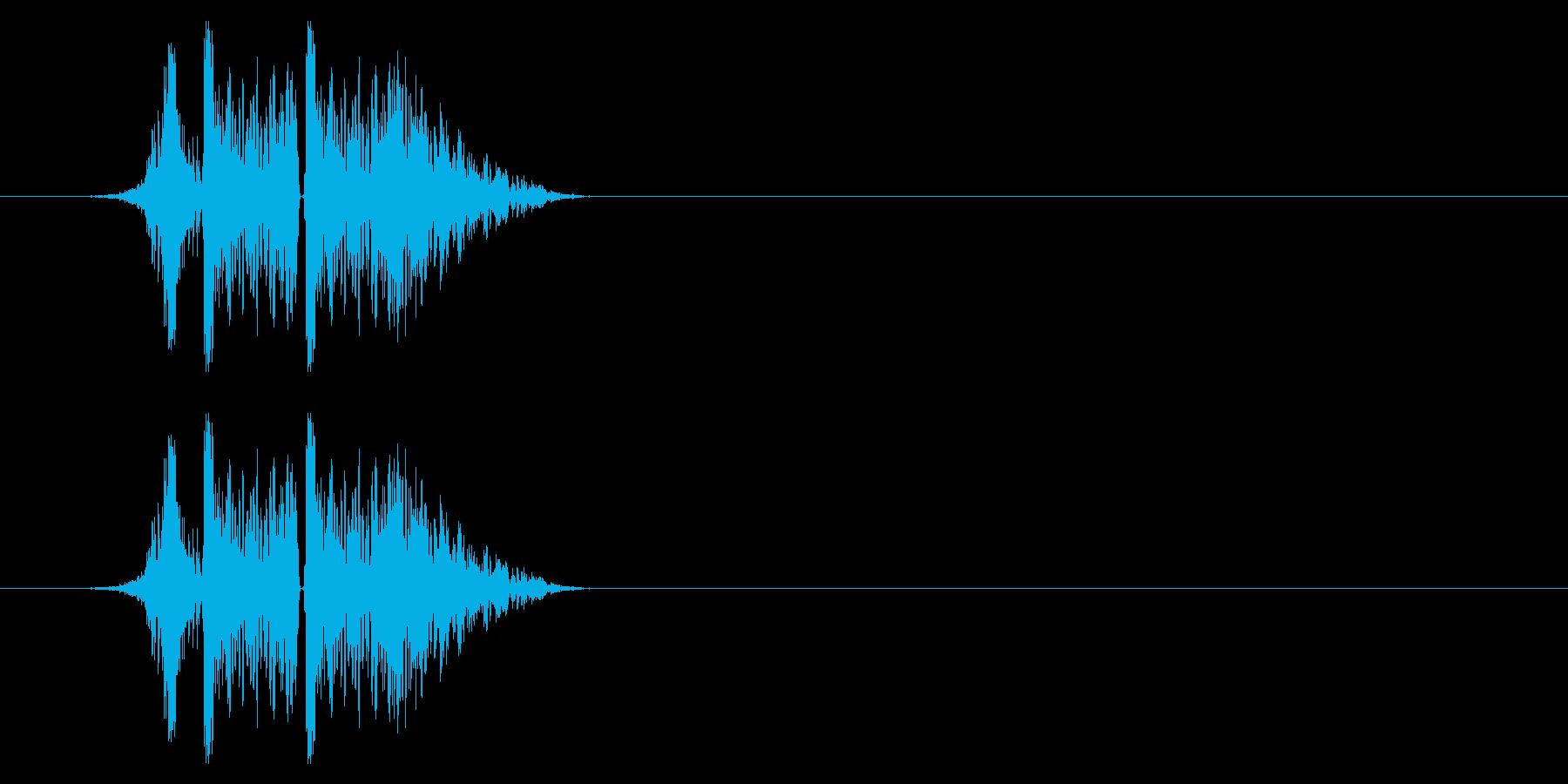 打撃09-4の再生済みの波形