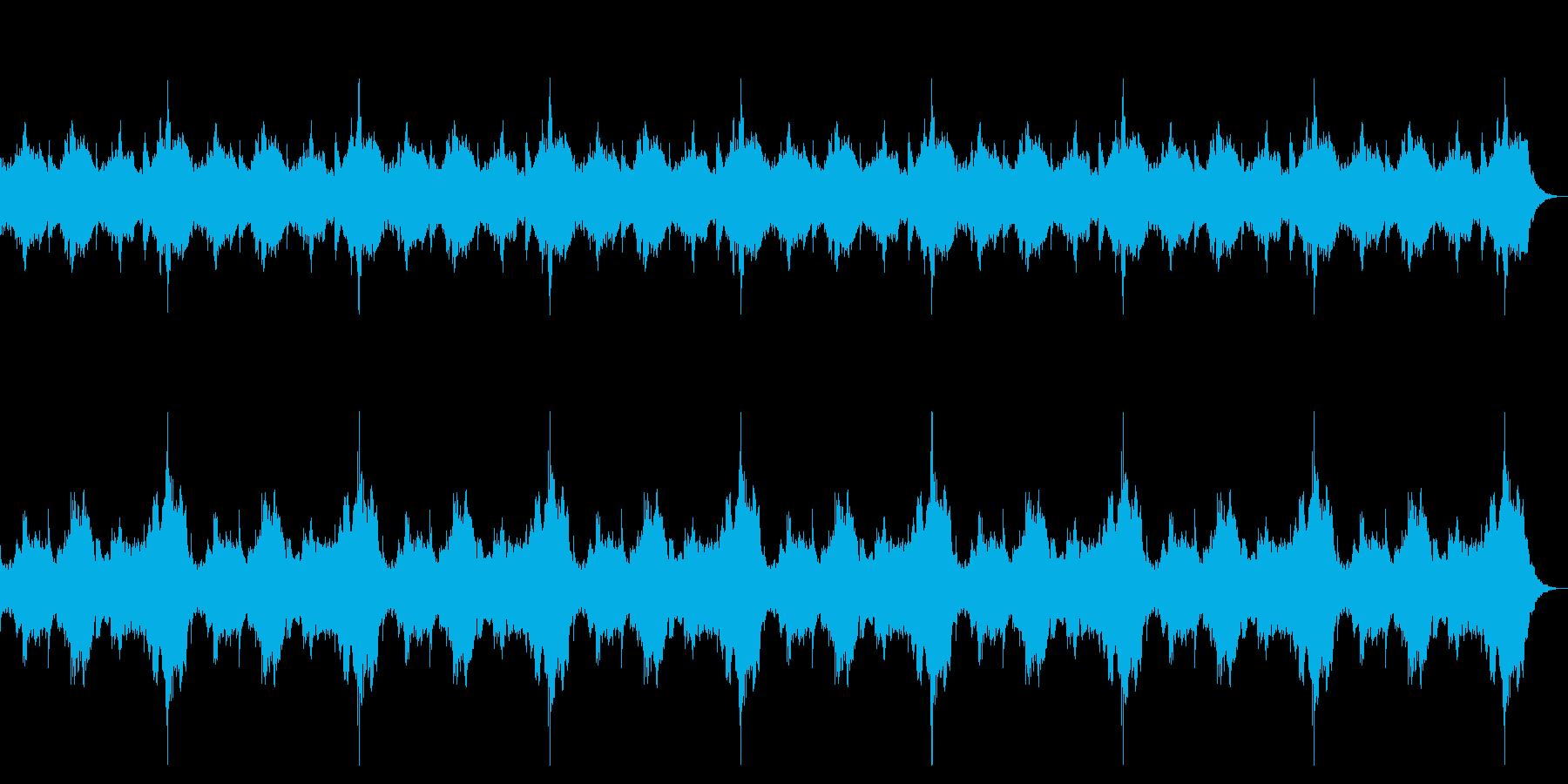 ダークなストリングス 恐怖演出 ロング版の再生済みの波形