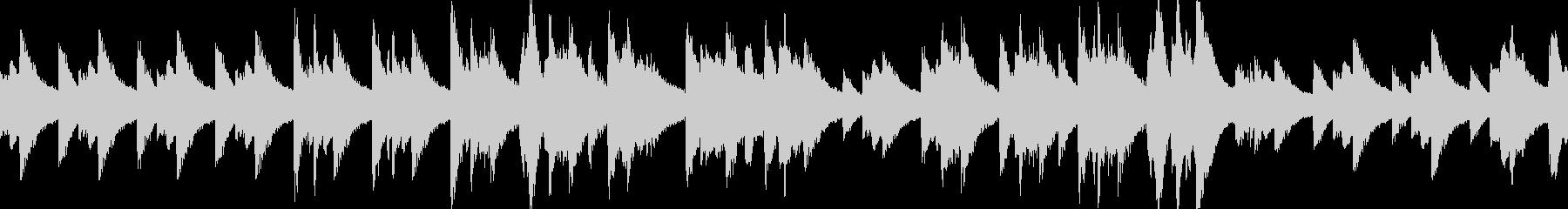 悲しいピアノ曲(LOOP対応)の未再生の波形