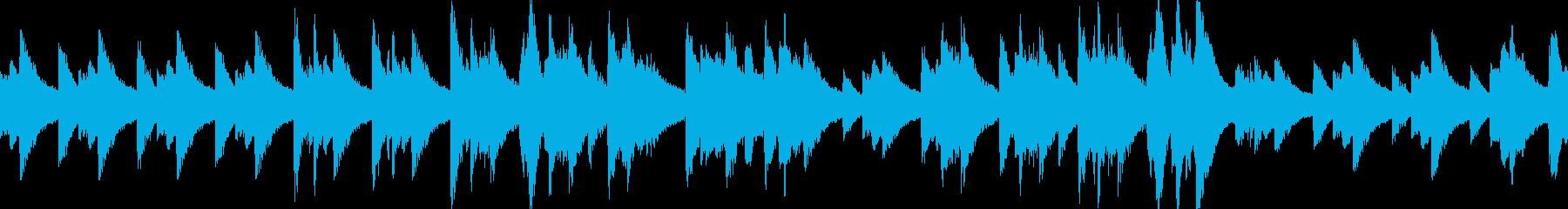 悲しいピアノ曲(LOOP対応)の再生済みの波形