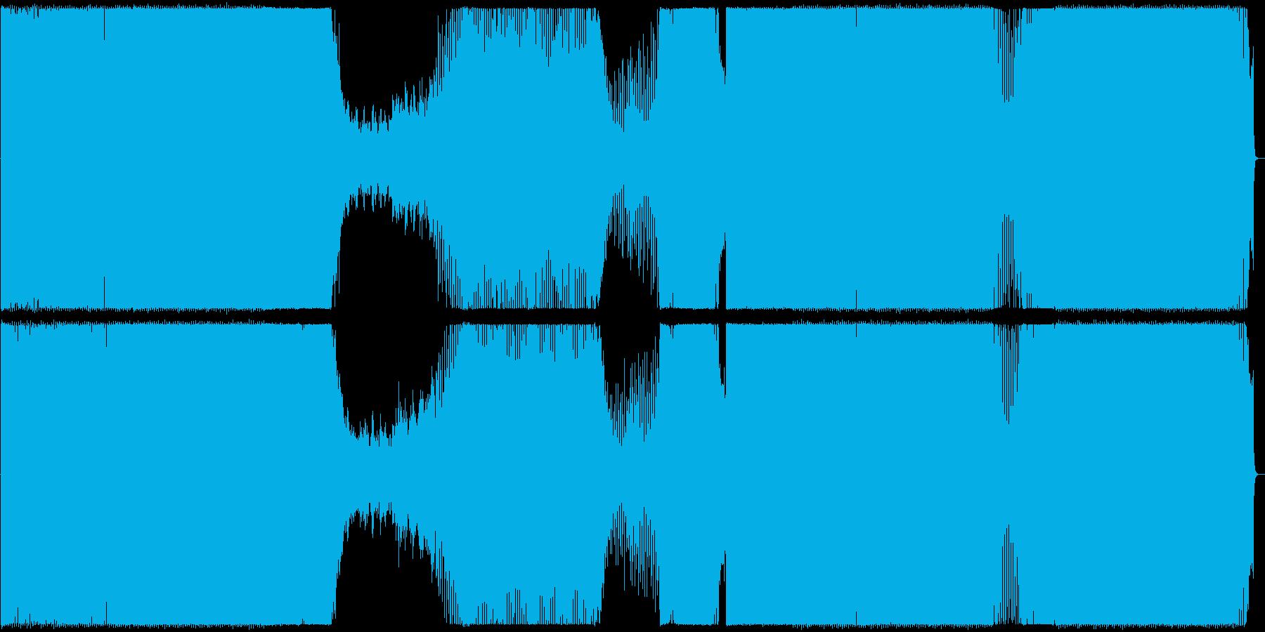 クラブ/トランス/アップリフティングの再生済みの波形