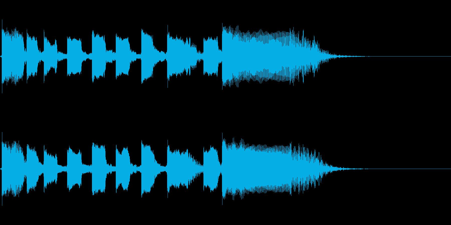 Guitarジングル3/おしゃれソロの再生済みの波形