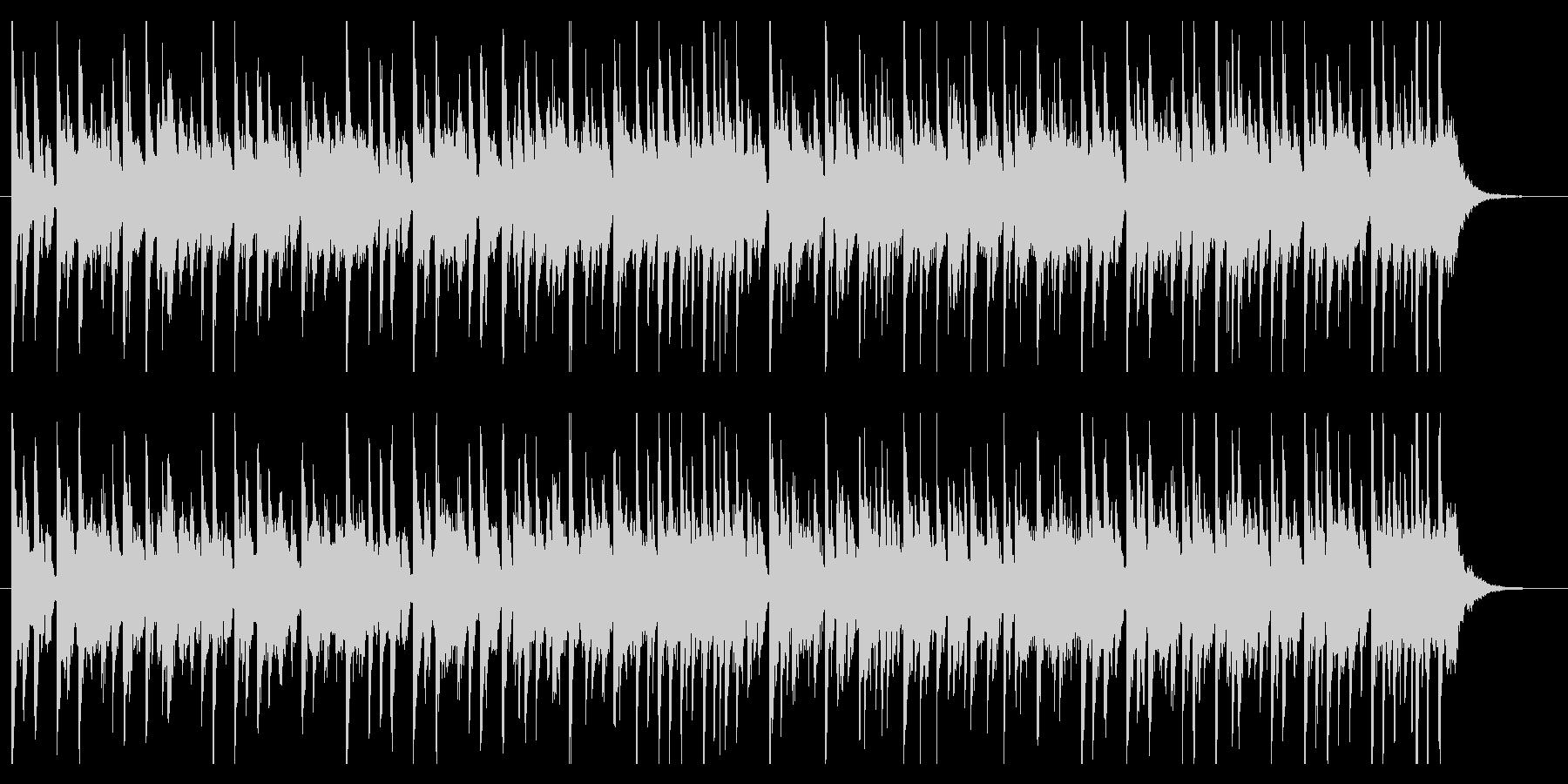バラエティーのコーナータイトルの未再生の波形