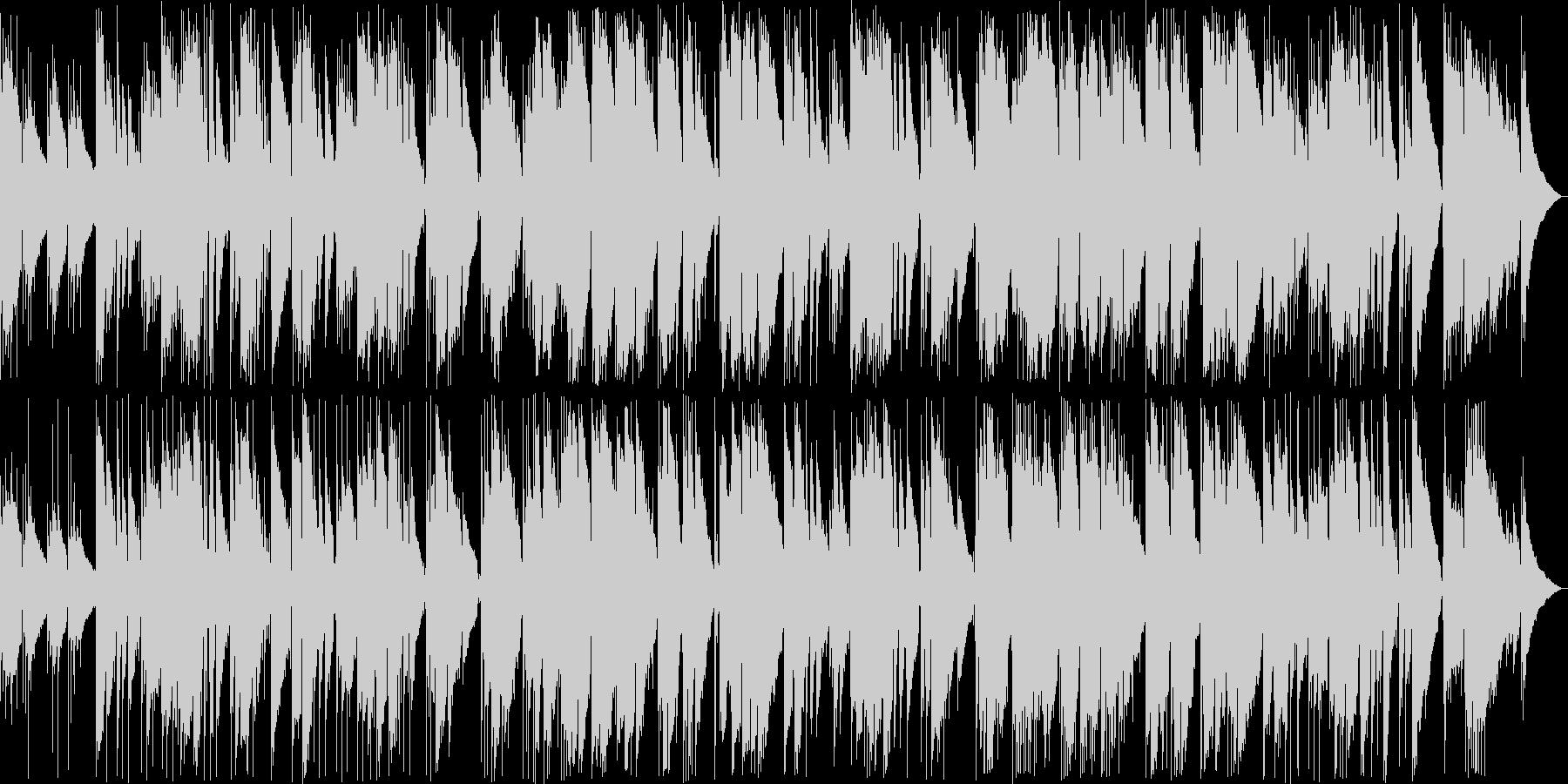 しっとりしたイージーリスニング曲の未再生の波形