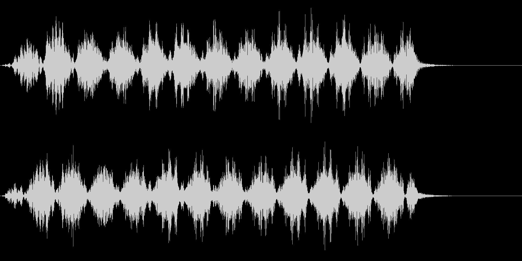 EDM系のDJ/音楽制作用フレーズ!01の未再生の波形