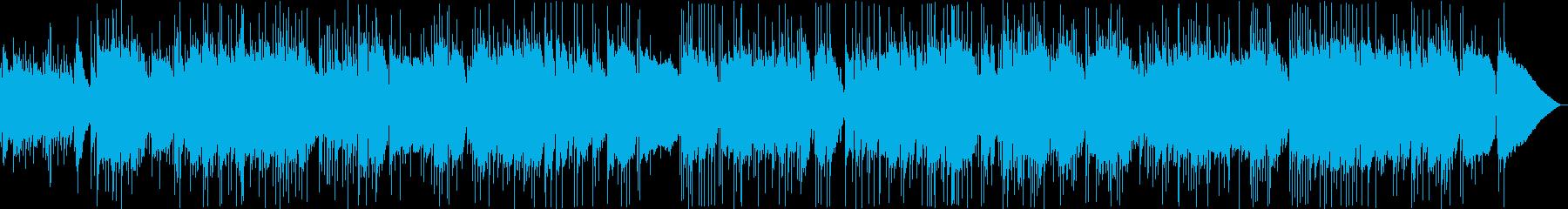 郷愁漂うヒーリングミュージックの再生済みの波形