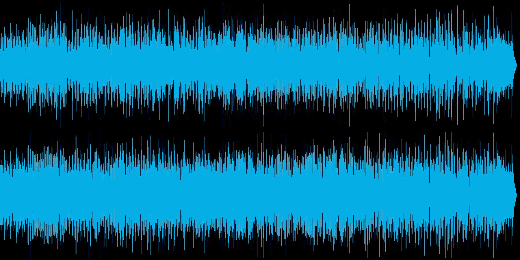 ピアノメロディーのやさしいポップの再生済みの波形