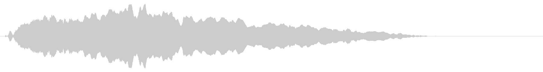 スライド笛/下降/ピューッ/カートゥーンの未再生の波形