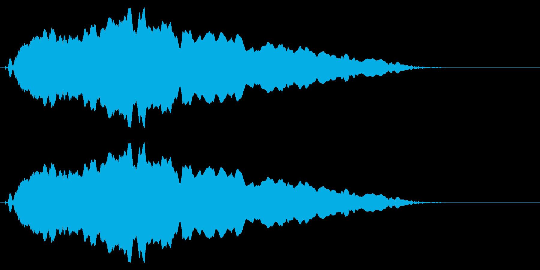 スライド笛/下降/ピューッ/カートゥーンの再生済みの波形