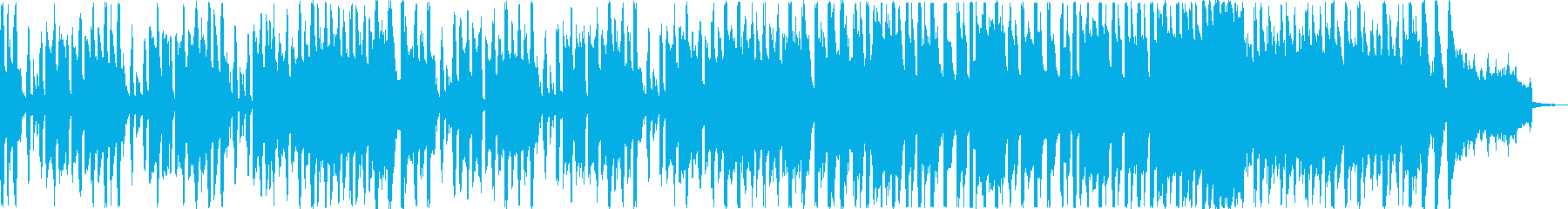 ゲームのクリア画面や、短いエンドロール…の再生済みの波形