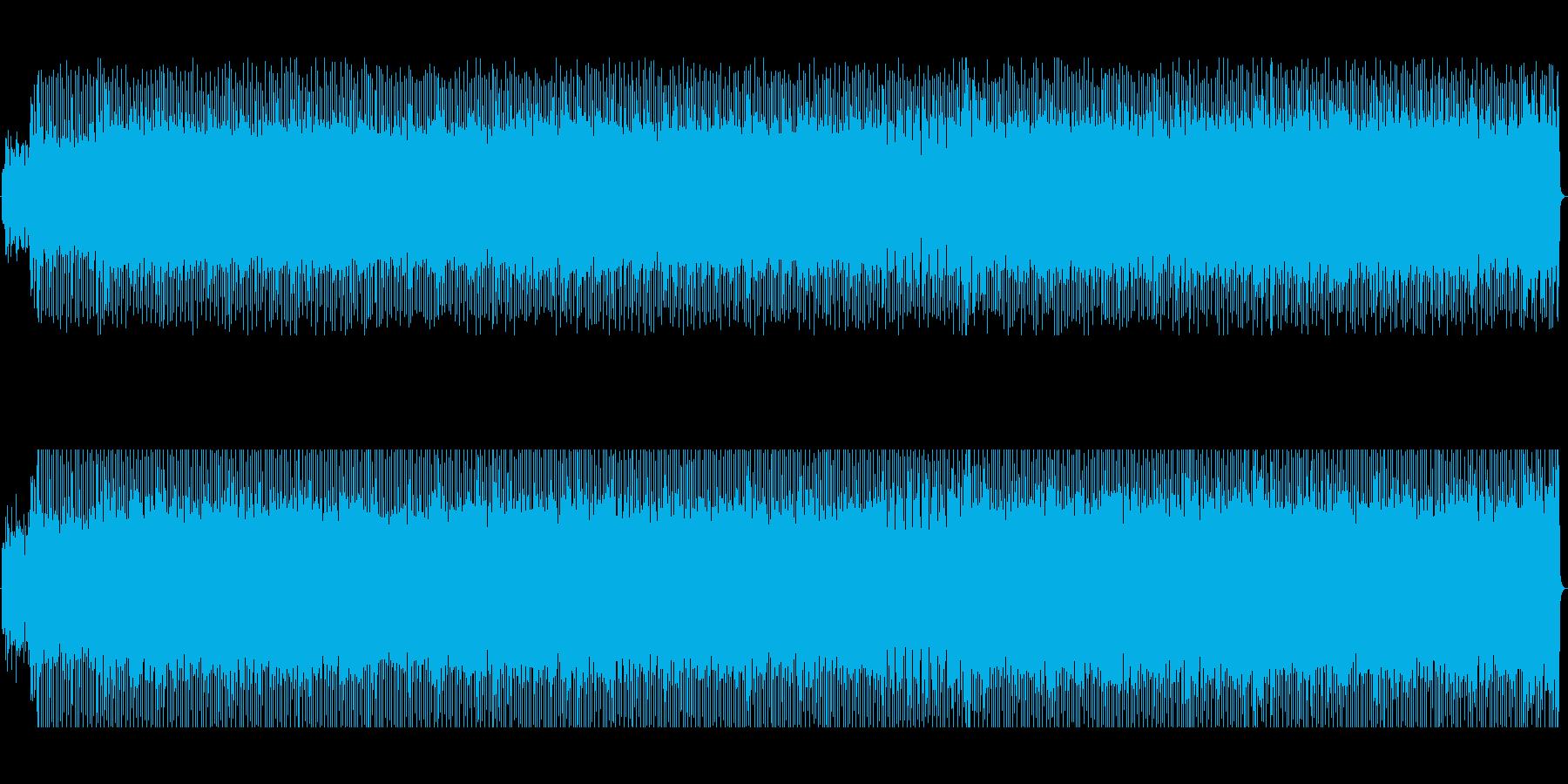 爽やかなダンサブルポップの再生済みの波形