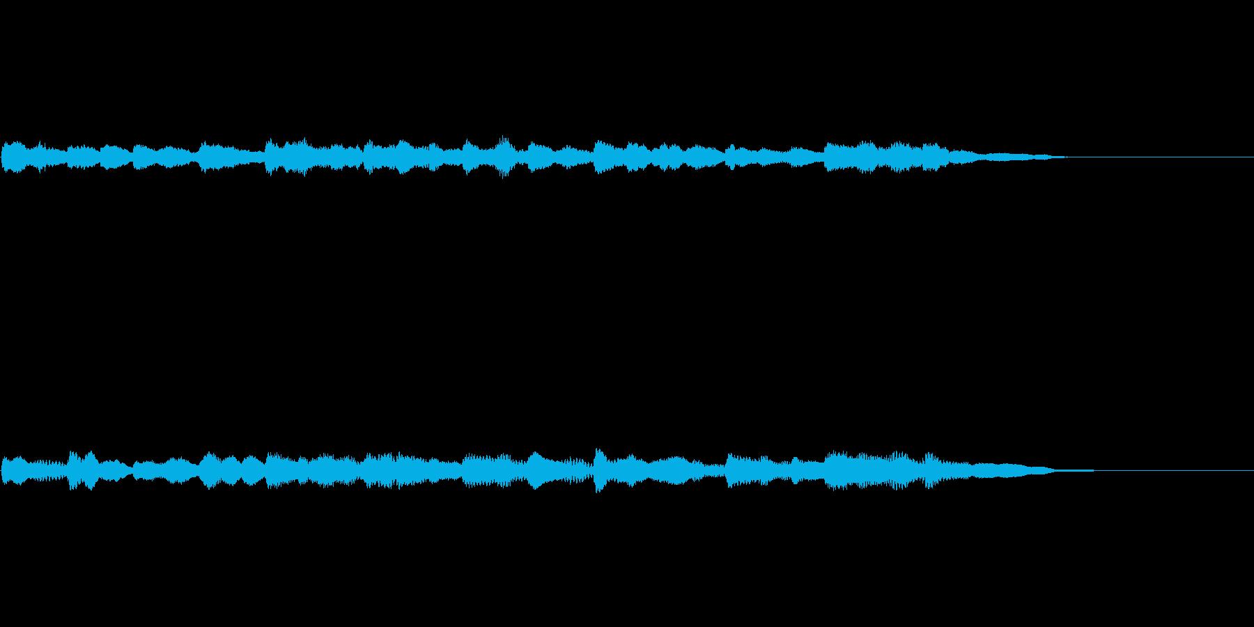 電車発車ジングルです。の再生済みの波形